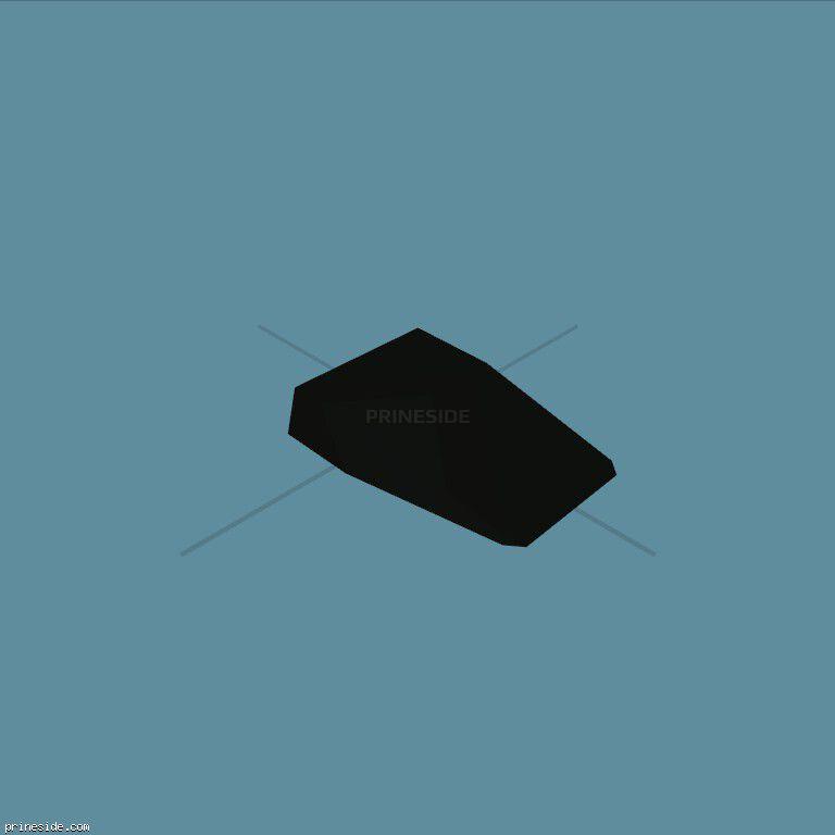 Часть машины (rf_b_sc_r) [1006] на темном фоне