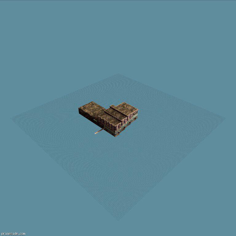 Квартал магазинов, которые идут под уклон (hashblock1_10_SFS) [10429] на темном фоне