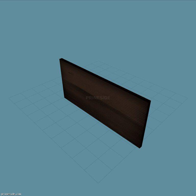 Dark gate to the garage (tbnSFS) [10558] on the dark background