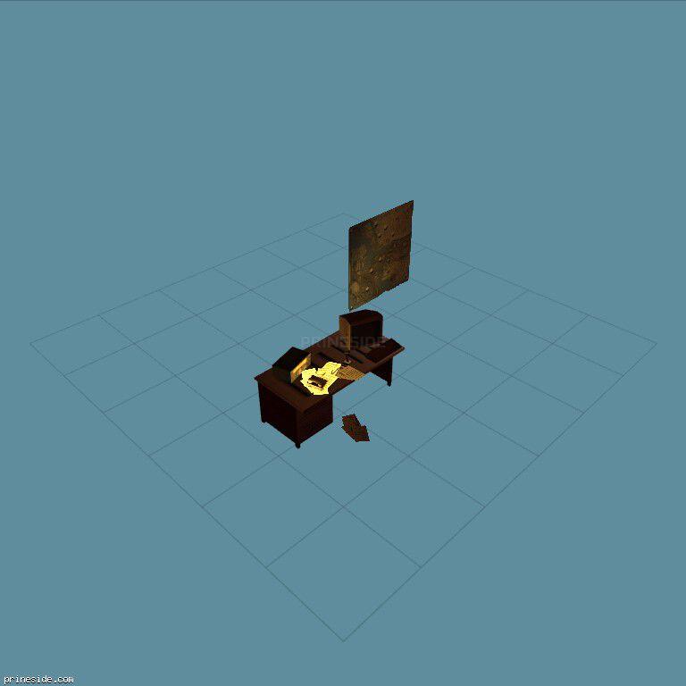 ranch_desk [11631] on the dark background