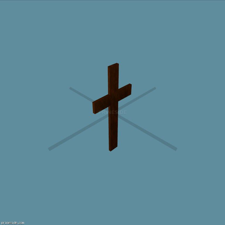 Church cross (Cross1) [11712] on the dark background