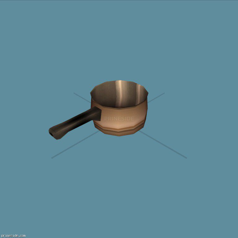 Turk for brewing coffee (SweetsSaucepan1) [11718] on the dark background