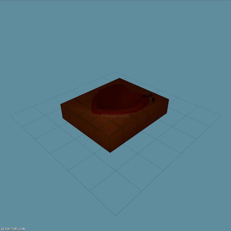 WHeartBath1 [11732] on the dark background