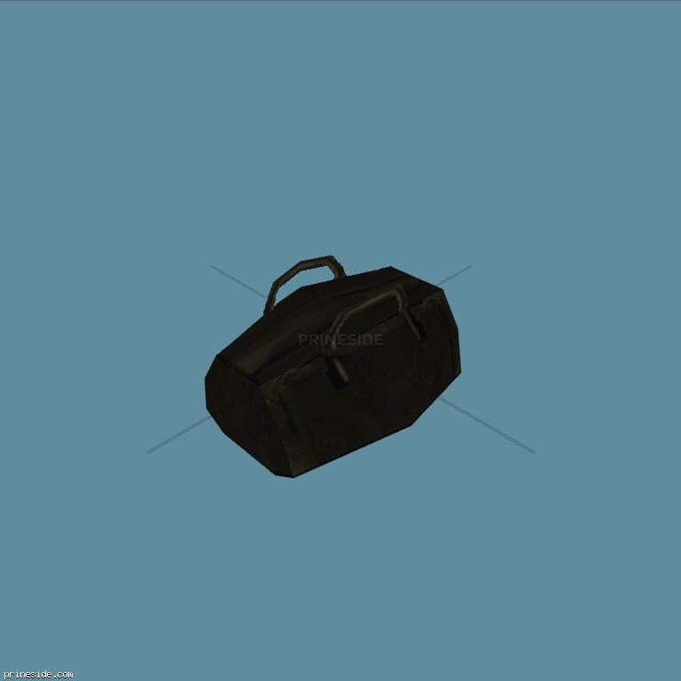 Big black bag (HoldAllEdited1) [11745] on the dark background