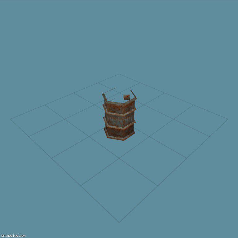 barrel2 [1217] on the dark background