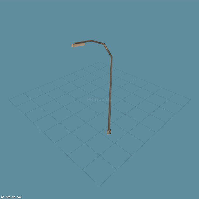 Фонарь (lamppost3) [1226] на темном фоне