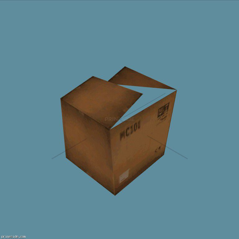 cardboardbox [1230] on the dark background