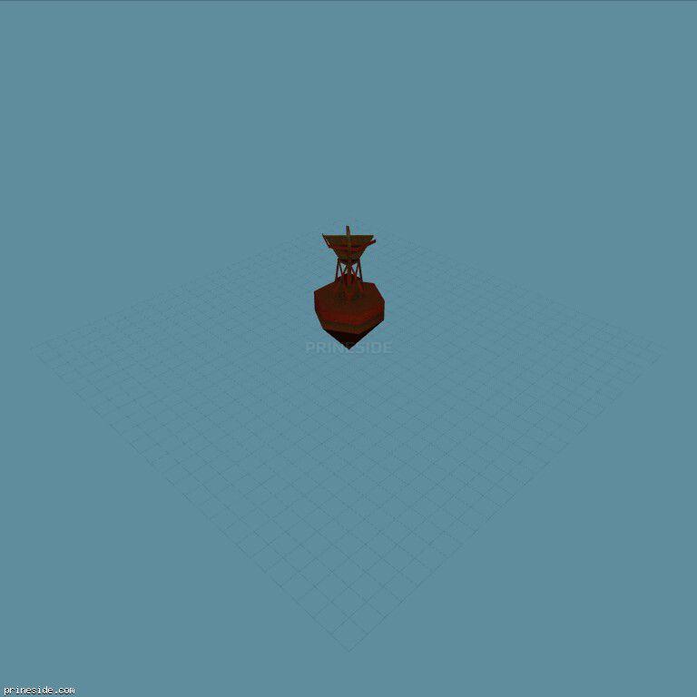 bouy [1243] on the dark background