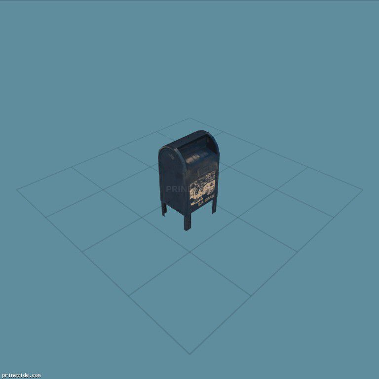 Box for mailing letters  (postbox1) [1291] on the dark background