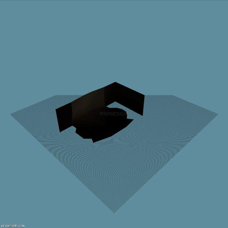 standblack02 [13606] on the dark background