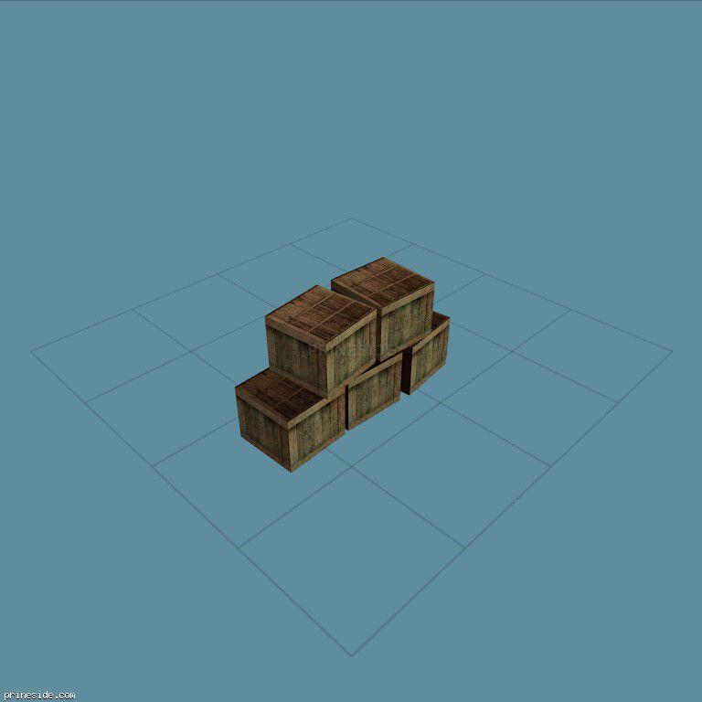 DYN_BOX_PILE [1431] on the dark background