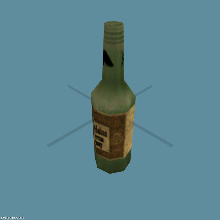 A bottle of wine (DYN_WINE_3) [1509] on the dark background