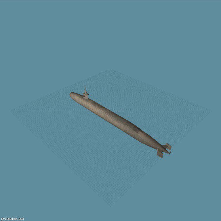 submarine [1612] на темном фоне