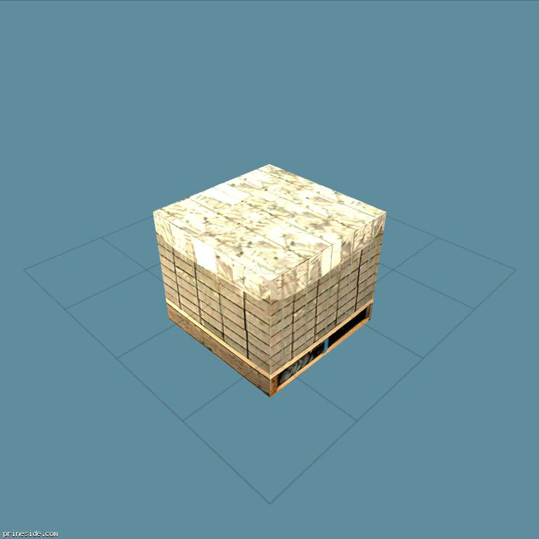 blockpallet [1685] on the dark background