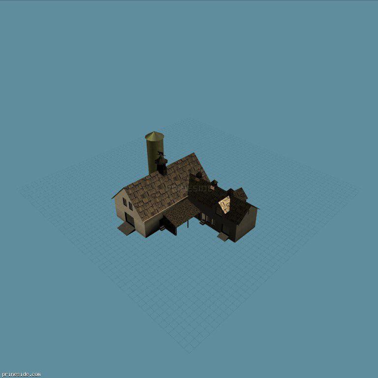 farmhouse01 [17008] on the dark background