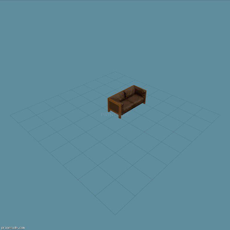 Dark sofa (kb_couch06) [1702] on the dark background