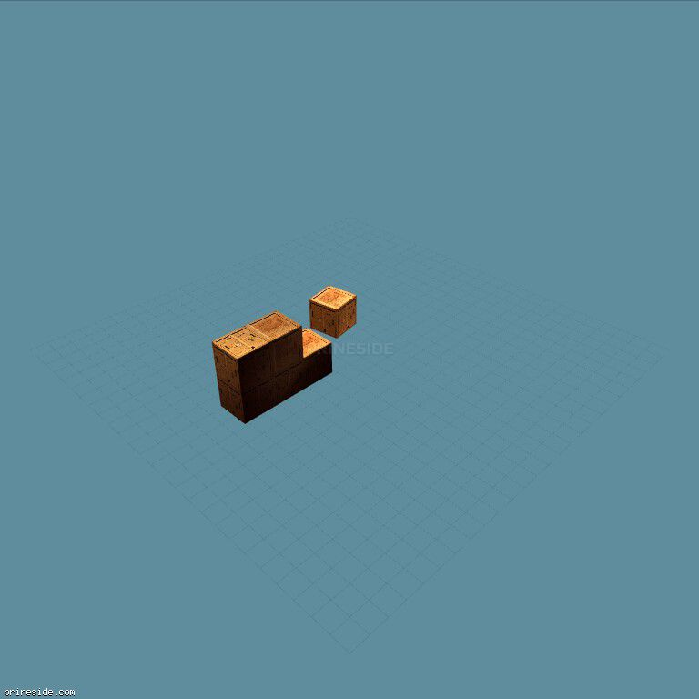 crates [18257] on the dark background