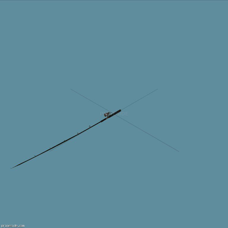 Рыболовная удочка (FishingRod) [18632] на темном фоне