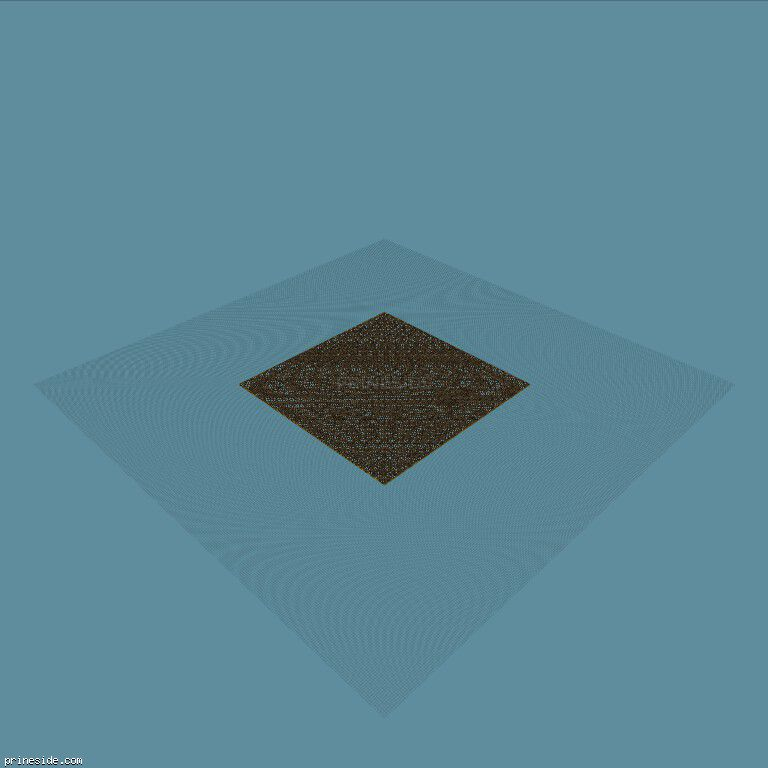 Large lattice flat square area of 125 by 125 metres (Base125mx125m1) [18753] on the dark background