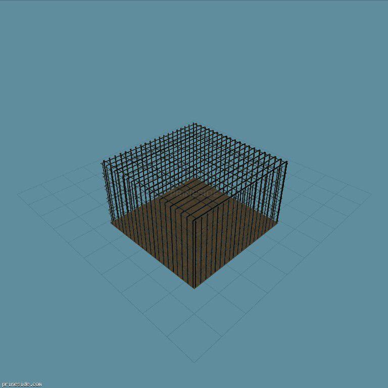 Cage5mx5mx3m [18856] on the dark background