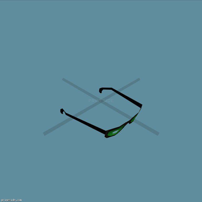 GlassesType3 [19008] on the dark background
