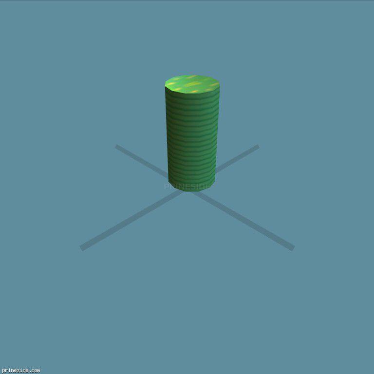 Стопка зеленых фишек из казино (chip_stack08) [1902] на темном фоне