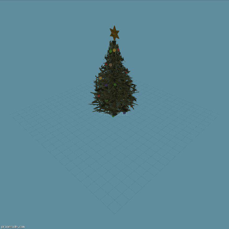 Рождественская елка (XmasTree1) [19076] на темном фоне