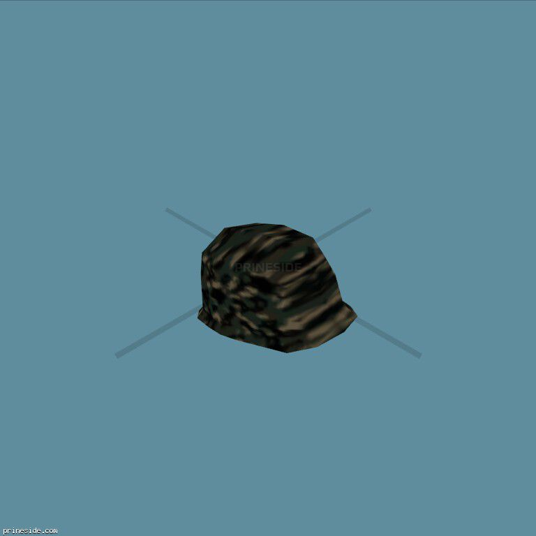 Army camouflage helmet (ArmyHelmet7) [19107] on the dark background