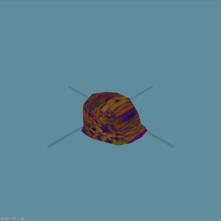 Tiger helmet (SillyHelmet1) [19113] on the dark background