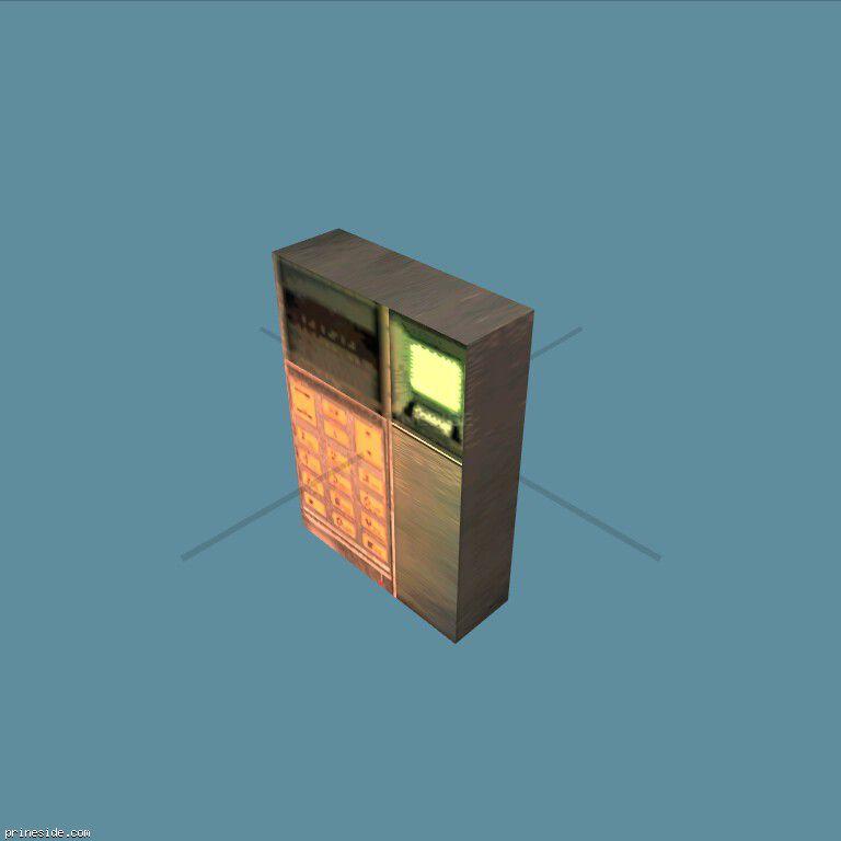 Домофон или блок управления с клавиатурой (KeypadNonDynamic) [19273] на темном фоне
