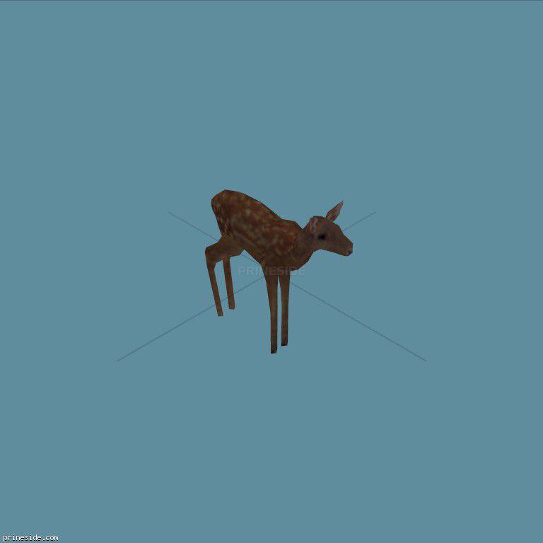Deer (deer01) [19315] on the dark background