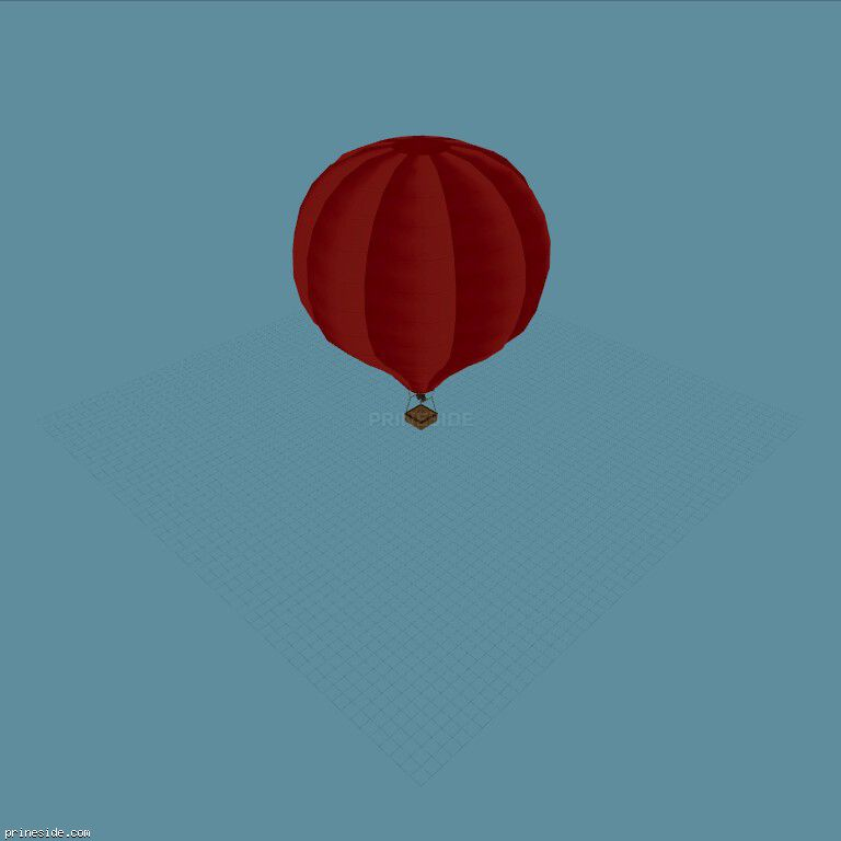 Hot_Air_Balloon01 [19332] на темном фоне