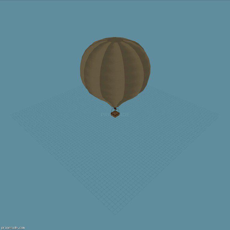 Hot_Air_Balloon03 [19334] on the dark background