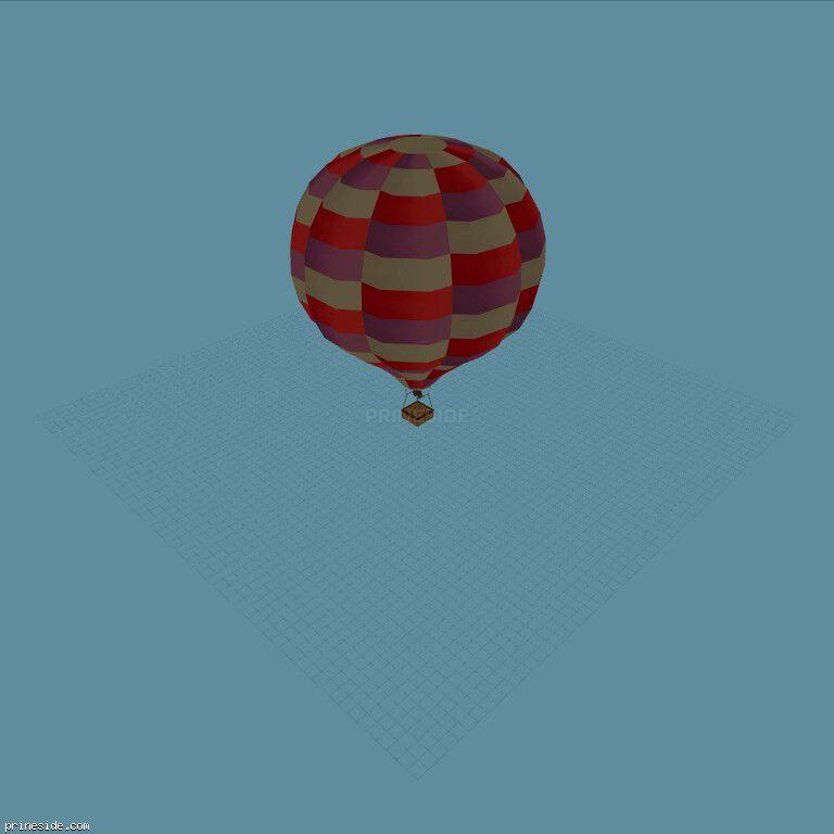 Hot_Air_Balloon05 [19336] on the dark background