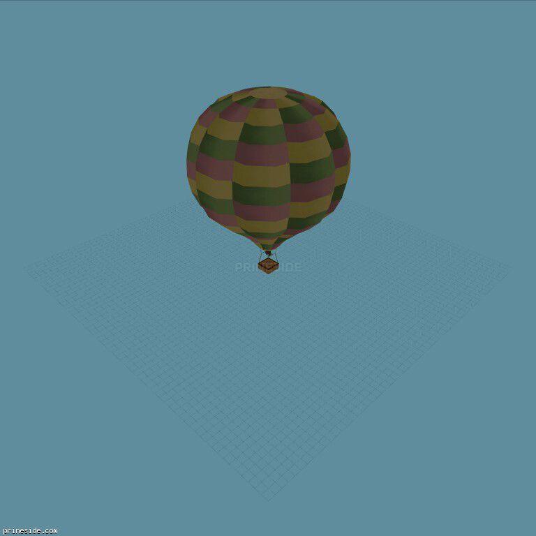 Balloon (Hot_Air_Balloon06) [19337] on the dark background