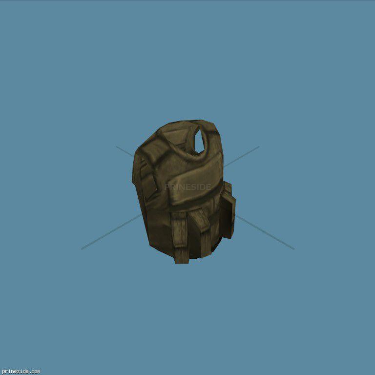 Grey SWAT armour (SWATAgrey) [19515] on the dark background