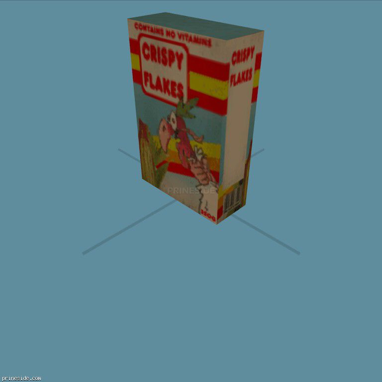 CerealBox1 [19561] on the dark background