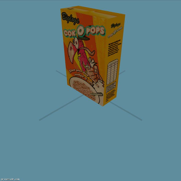 CerealBox2 [19562] on the dark background