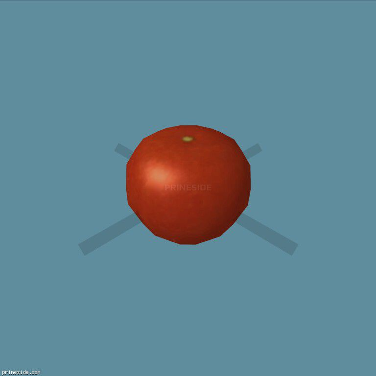Red tomato (Tomato1) [19577] on the dark background