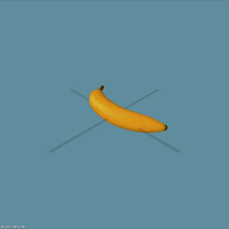 Banana (Banana1) [19578] on the dark background