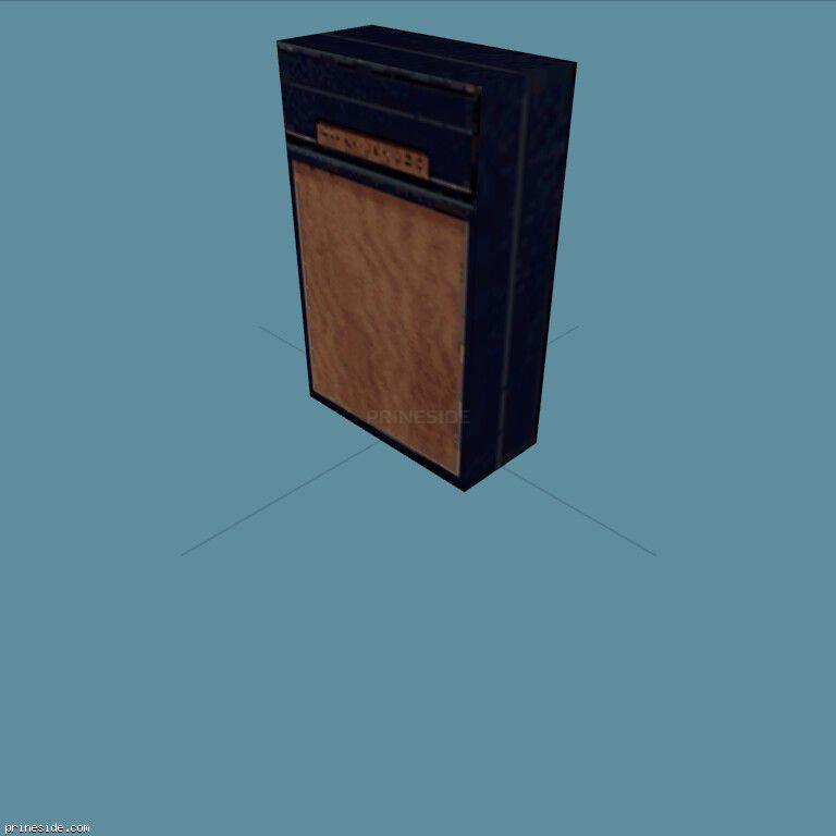 Guitar amplifier (GuitarAmp5) [19616] on the dark background