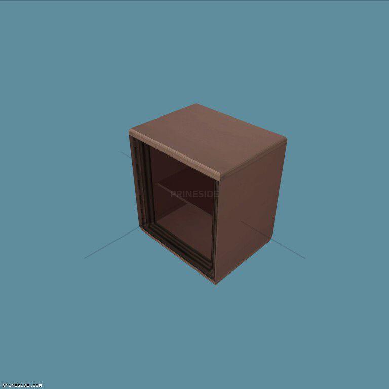 Открытый сейф (Safe1) [19618] на темном фоне