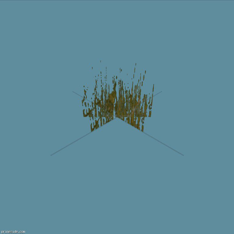 GrassClump3 [19839] on the dark background