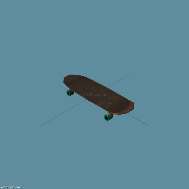 Skate (Skateboard1) [19878] on the dark background