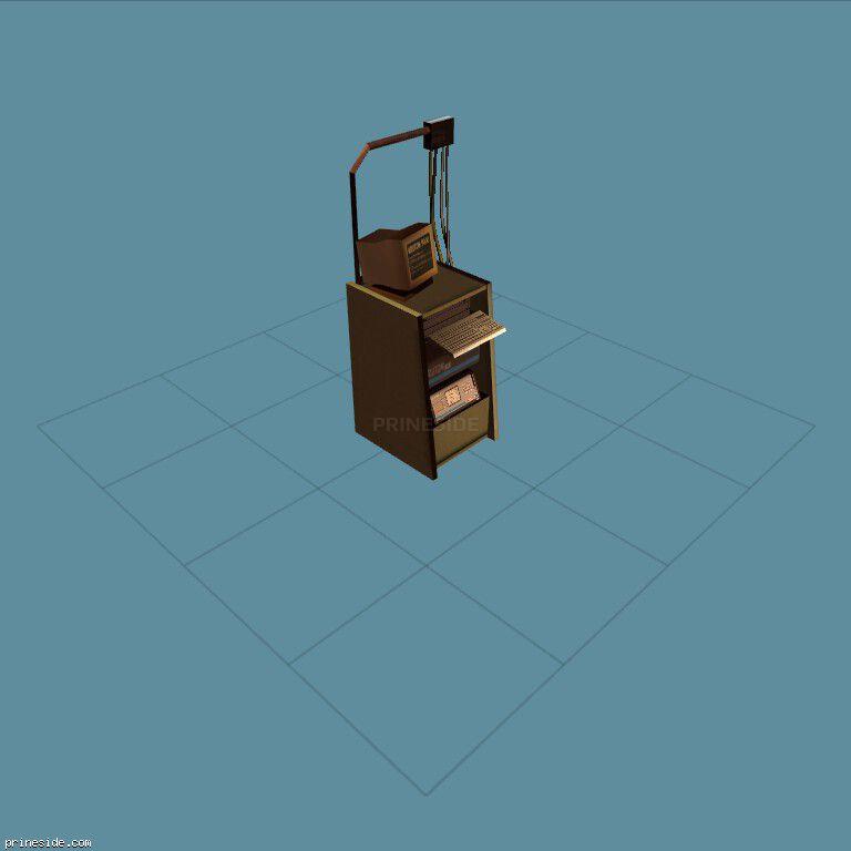 Workstation computer diagnostics (MechanicComputer1) [19903] on the dark background