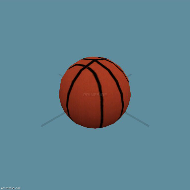Оранжевый баскетбольный мяч (basketball) [2114] на темном фоне