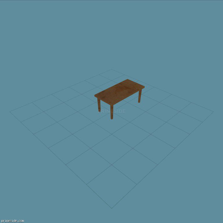 A small wooden table (LOW_DINNING_1) [2115] on the dark background