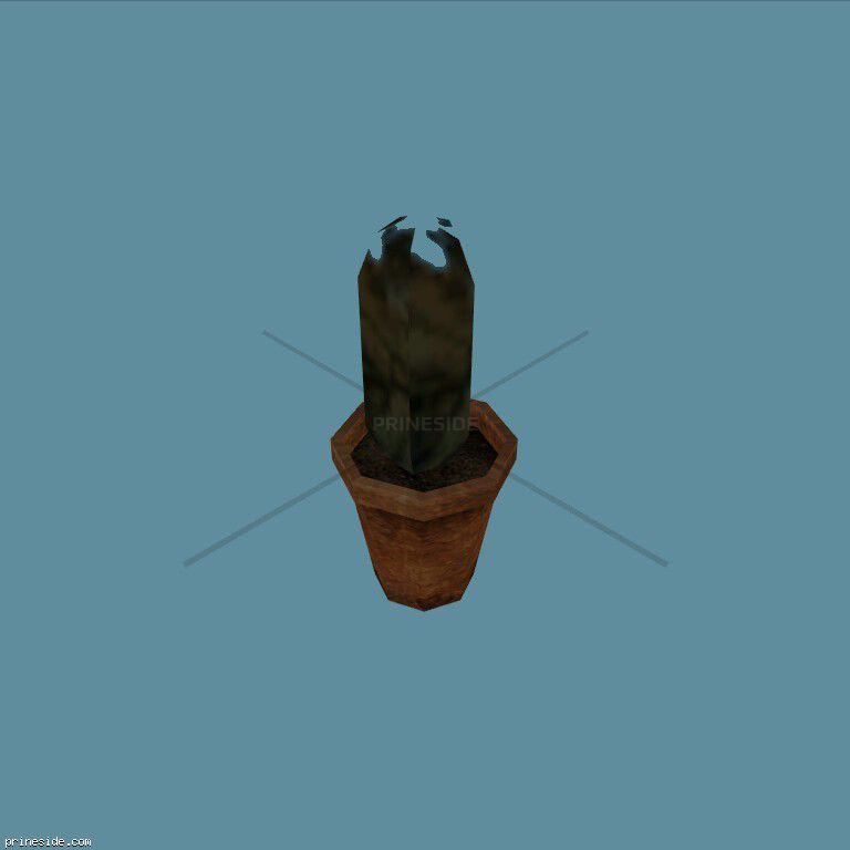 Plant_Pot_2 [2194] на темном фоне