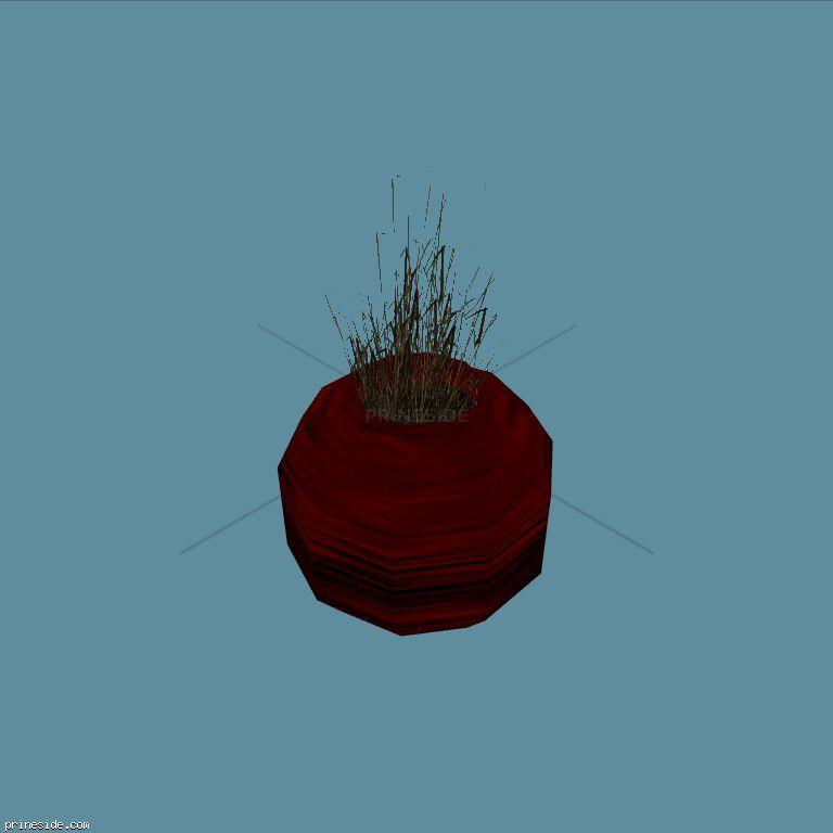Plant_Pot_8 [2240] on the dark background