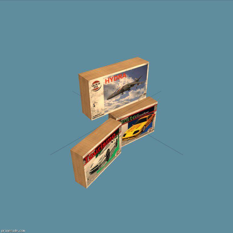 MODEL_BOX5 [2477] на темном фоне